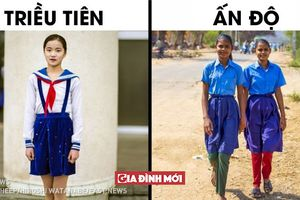 15 bức ảnh tiết lộ về đồng phục học sinh ở các nước trên thế giới, Việt Nam cũng góp 1 ảnh