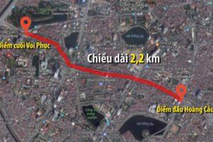 Vì sao Hà Nội chưa xây được con đường 'đắt nhất hành tinh'?
