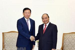 Thủ tướng mong muốn Lotte hợp tác, thúc đẩy phong trào khởi nghiệp tại Việt Nam