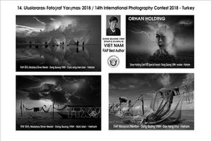 Việt Nam đoạt nhiều giải tại cuộc thi nhiếp ảnh quốc tế Orhan Holding