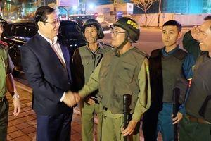 Chủ tịch TP.Đà Nẵng kiểm tra công tác tuần tra phòng chống tội phạm trong đêm