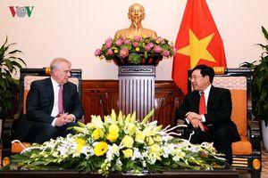 Phó Thủ tướng Phạm Bình Minh tiếp Công tước xứ York, Hoàng tử Andrew