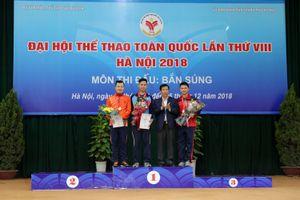 Bộ Văn hóa, Thể thao và Du lịch trao thưởng cho các xạ thủ bắn súng xuất sắc
