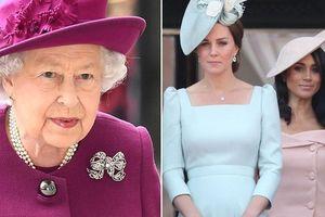 Trước thông tin hai cháu dâu xích mích, Nữ hoàng Anh đã đưa ra quyết định này để 'dẹp yên' mọi chuyện