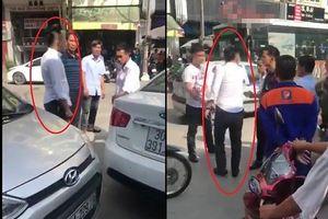 Vụ lái xe taxi bị đánh sau va chạm nhẹ ở Nguyễn Tuân: Hai bên đã tự dàn xếp