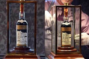 'Sửng sốt' với mức giá kỷ lục của chai rượu whisky đắt nhất thế giới