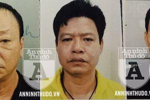 Chân dung 3 đối tượng bị khởi tố trong vụ án 'cưỡng đoạt tài sản' chợ Long Biên