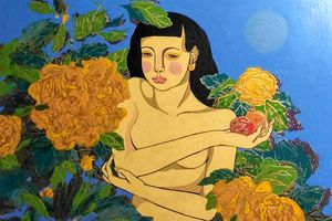 Vẻ đẹp của người phụ nữ trong tranh khỏa thân