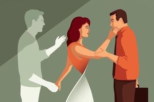 Bộ tranh về sự đổ vỡ trong hôn nhân và nỗi đau của người ở lại