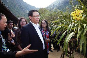 Phó thủ tướng thăm bản du lịch của người Mông