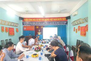 Đoàn nhà báo châu Âu làm việc tại Bình Định về công tác khắc phục thẻ vàng IUU