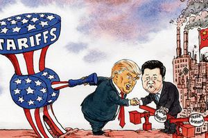 Tổng thống Trump lại dậm dọa Trung Quốc