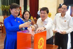 Phó Chủ tịch HĐND TPHCM Trương Thị Ánh có số phiếu tín nhiệm cao nhiều nhất