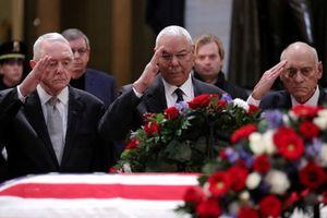 Chính khách Mỹ 'nghiêng mình' tiễn biệt cố Tổng thống Bush cha