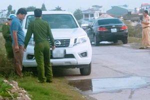 Kết luận chính thức vụ Thượng úy công an tử vong trong ô tô ở Nam Định