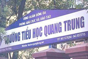 Hà Nội: Nghi vấn học sinh lớp 2 bị cô giáo cho bạn tát 50 cái