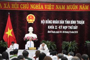 San lấp đất nông nghiệp để bán nền làm nóng kỳ họp HĐND Bình Thuận