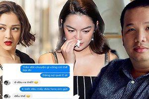 Lộ tin nhắn giữa Bảo Anh và Phạm Quỳnh Anh về nghi vấn là người thứ 3