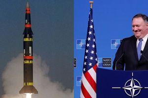 Ngoại trưởng Mỹ: Nga có '60 ngày để tuân thủ thỏa thuận INF'