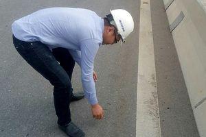 Cầu vượt biển dài nhất VN bị rải đinh: Lạ kỳ vừa nhặt xong lại thấy có