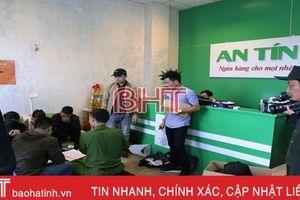 Khởi tố 6 đối tượng 'cho vay nặng lãi trong giao dịch dân sự' ở Hà Tĩnh