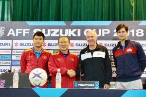 HLV Park Hang-seo lấy thất bại AFF Cup 2014 'đe' học trò, nói Việt Nam sẽ chơi thật tốt với Philippines