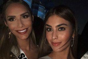 Chỉ một ảnh selfie, đại diện Colombia dập tan nghi án kỳ thị đối thủ chuyển giới tại Miss Universe 2018