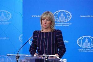 Bộ Ngoại giao Nga bác bỏ 'tối hậu thư' của Mỹ về hiệp ước INF