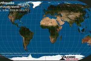 Cảnh báo sóng thần sau trận động đất 7,6 độ ríchte làm rung chuyển New Caledonia