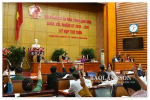 Kết quả lấy phiếu tín nhiệm đối với 27 người giữ chức vụ do HĐND tỉnh Lạng Sơn bầu