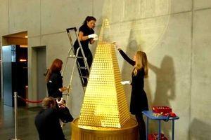 Cận cảnh cây thông Noel trị giá hơn 60 tỷ đồng tại Đức
