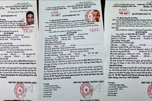 Kiên Giang: Truy nã đặc biệt 3 phạm nhân tội ma túy, giết người trốn trại tạm giam