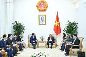Thủ tướng đề nghị Tập đoàn Lotte lập quỹ khởi nghiệp cho thanh niên Việt Nam