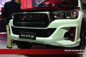 Bán tải Toyota 'biến hình' thành xe đua cự phách Hilux GR Sport