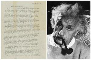 Bức thư của Einstein được bán với giá kỷ lục