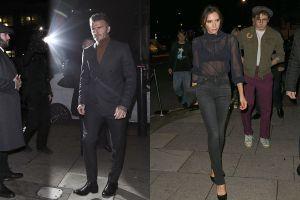 David Beckham khó chịu ra mặt khi đi sự kiện cùng vợ con