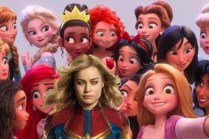 Hóa ra Captain Marvel là một nàng công chúa, nếu theo định nghĩa của các công chúa Disney trong 'Ralph Breaks The Internet'