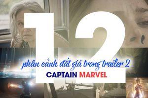 12 phân cảnh 'đắt giá' mà rất có thể bạn đã bỏ lỡ trong trailer 2 của Captain Marvel!