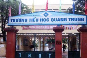 Hà Nội: Cô giáo chỉ đạo học sinh tiểu học tát bạn 50 cái tại lớp