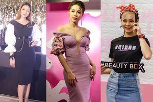 Hot girl Sam diện đầm cúp ngực gợi cảm 'lấn áp' Diễm My, Lilly Nguyễn ở sự kiện