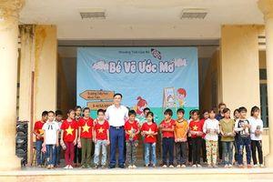 Kết nối yêu thương tại điểm trường khó khăn tỉnh Tuyên Quang