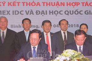 ĐH Quốc gia TP. Hồ Chí Minh hợp tác với Bình Dương triển khai đề án thành phố thông minh