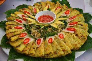 Dân dã ẩm thực miền trung du xứ Quảng