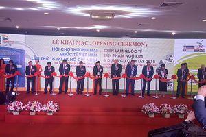 Khai mạc Vietnam Hardware & Hand Tools Expo và Vietnam Expo 2018