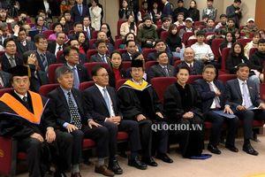 Chủ tịch Quốc hội Nguyễn Thị Kim Ngân nhận bằng Tiến sỹ danh dự trường Đại học Quốc gia Pukyong