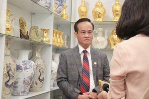 Doanh nhân Lê Duy Hảo, người đưa chất 'Thiền' vào gốm sứ Nason