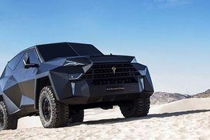 Siêu xe SUV 'made in China' có khả năng chống đạn và…'tàng hình'