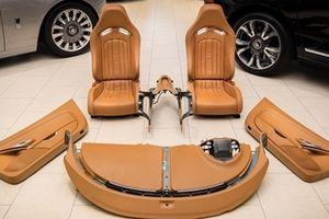 Mức giá 'khủng' cho bộ nội thất Bugatti Veyron 10 năm tuổi