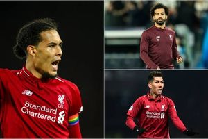 Đội hình siêu tấn công theo sơ đồ 4-3-3 của Liverpool trận gặp Burnley