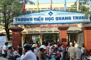 Trường tiểu học Quang Trung né trả lời báo chí về vụ tát học sinh